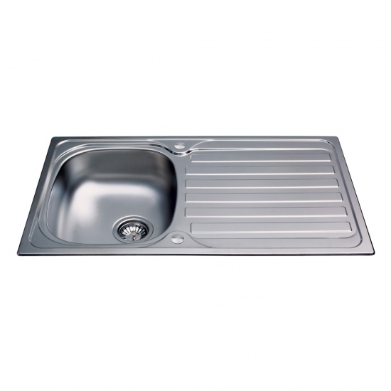 CDA Kitchen Stainless Steel Compact Single Bowl Sink - KA20SS