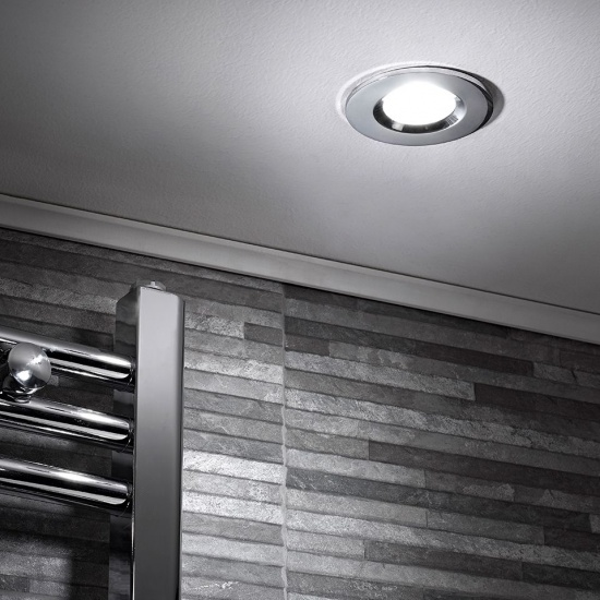 Sensio GU10 IP65 Fire & Acoustic Rated Bathroom Shower Light