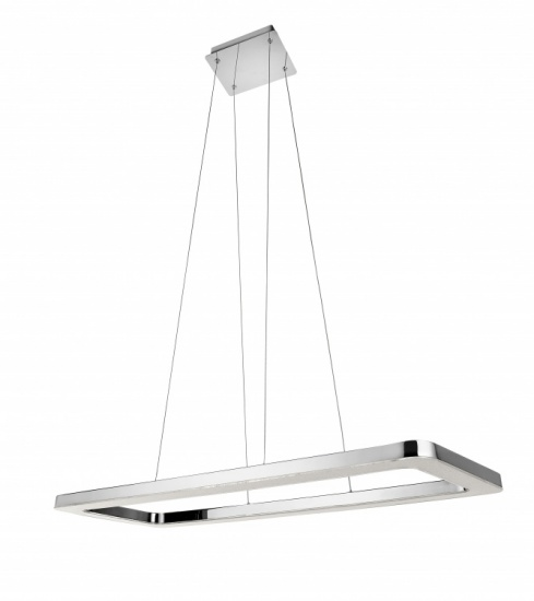 Sensio Bellatrix Crushed Crystal Pendant Light