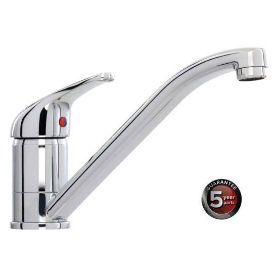 CDA Kitchen Sink Standard Single Lever Tap - TC10CH