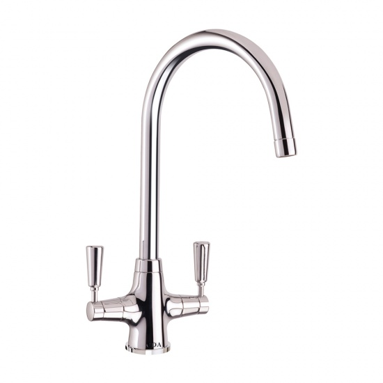 CDA Traditional Kitchen Sinks Quarter Turn Lever Monobloc Tap - TT41
