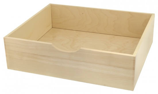Complete Internal Wooden Drawer for Cabinet Unit