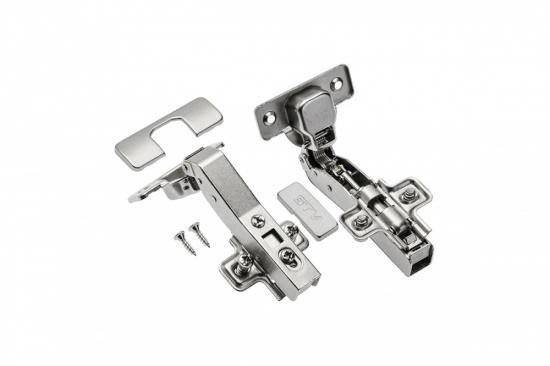 Kitchen / Bedroom Cabinet Door Corner Hinge 45 Degree