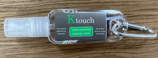 Ktouch Hand Sanitiser Products 30ml