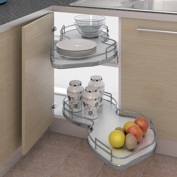 Pull Out Shelving Unit, How To Fix Pull Out Corner Kitchen Cupboard Doors