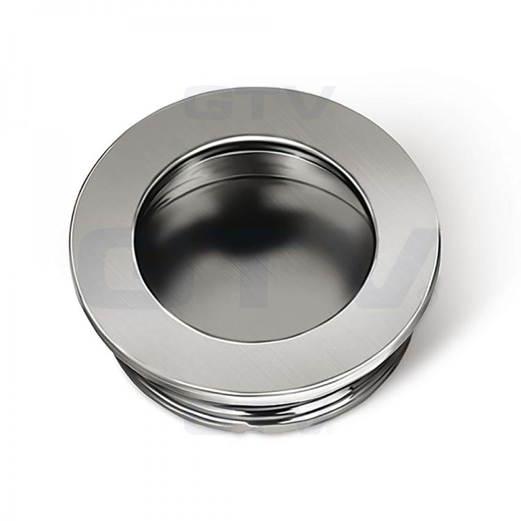 Round Recessed Kitchen Bedroom Door Handle B224