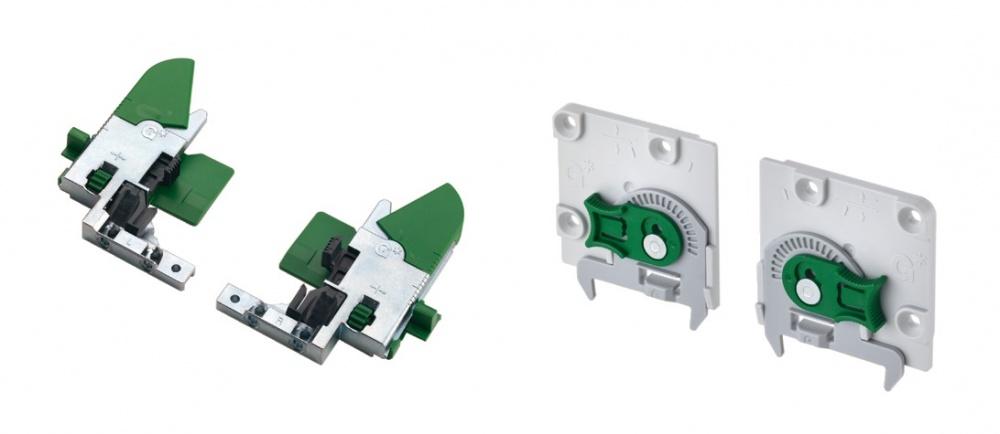 Grass Dynapro Plastic Fixing Clips 3d Adjustment