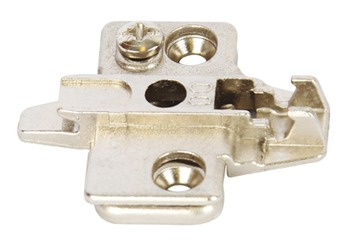 Grass Mounting Plate Super Compact Cruciform