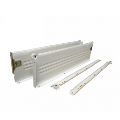 Metal Kitchen Drawer Runner Amp Side Set White